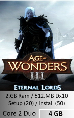 Age of wonders 3 Eternal Lords  [ 4 GB ]